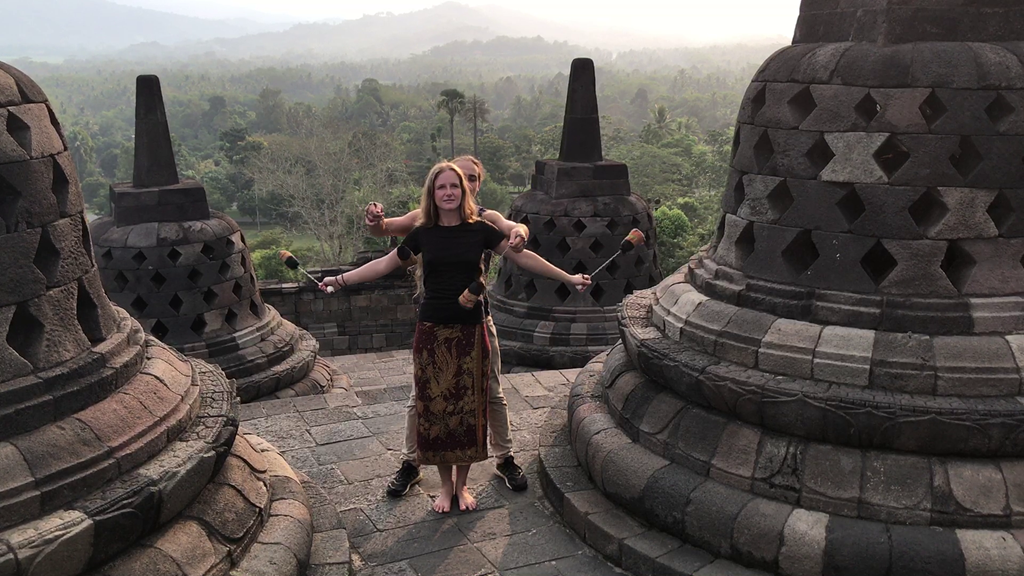 593b Borobudur Tempel Poi